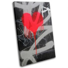 Heart Graffiti Love - 13-1583(00B)-SG32-PO